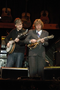 With Sam Bush (and Lyle Lovett) at Telluride