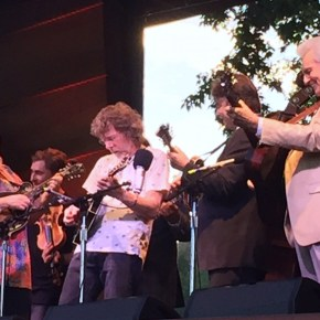 Acousticity: Hot licks and tuneful torches passed at a Rockygrass to remember