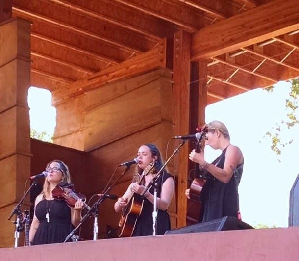 I'm With Her: Sara Watkins, Sarah Jarosz & Aoife O'Donovan soar at Rockygrass, a place that has nurtured all three musicians.