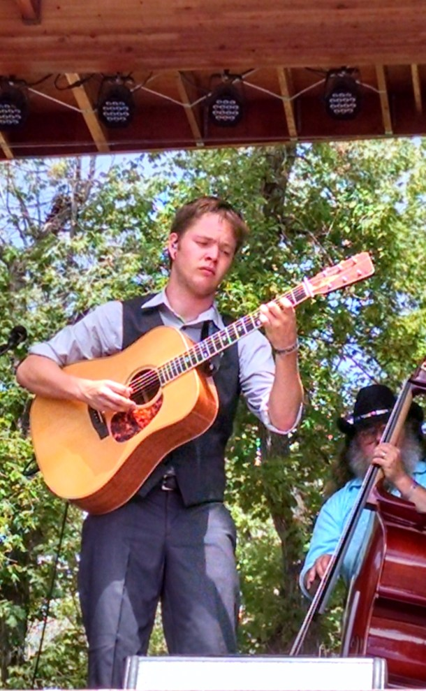 Billy String's - a gifted young guitarist and singer - made a big impression at the 2015 Rockygrass Festival in Lyon's Colorado