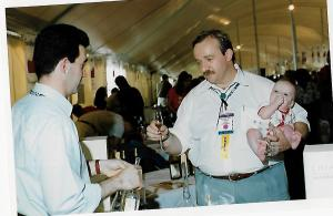 John and Hans at the Aspen Food & Wine Classic