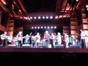 Rockygrass '16: The Family Fleck and a  stringed strength in numbers finale