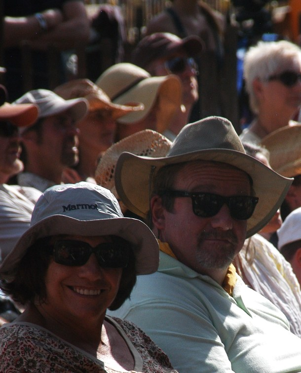 Barb & John at Rockygrass