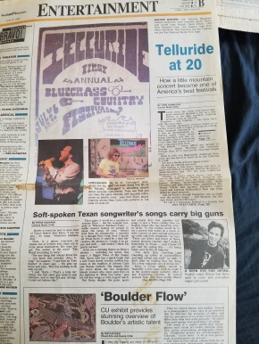 Telluride Bluegrass: Pickin' through the years