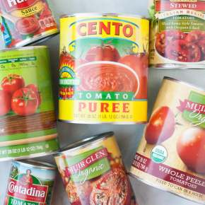Creating big taste from cannedtomatoes